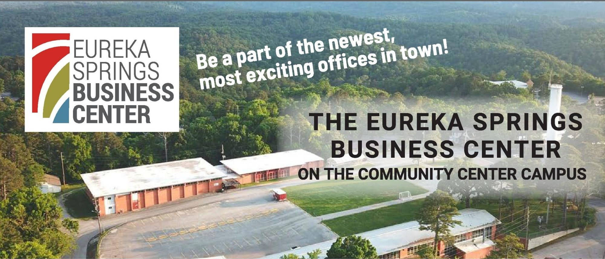 Arial view business center banner - Lead News Story